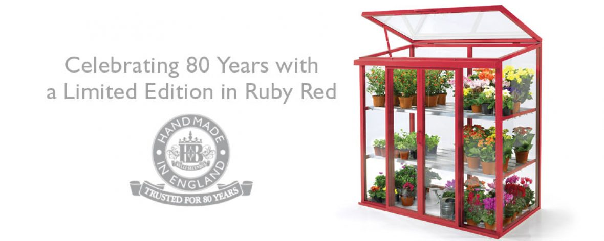 Ruby Red Hartley Botanic Patio Glasshouse
