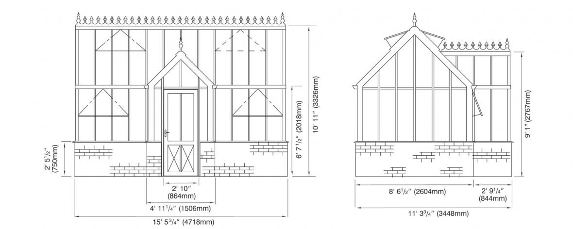 Victorian Villa Elevations