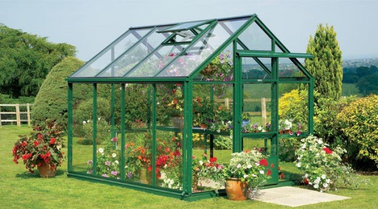 Tradition 8 greenhouse